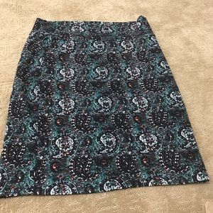 LuLaRoe paisley skirt